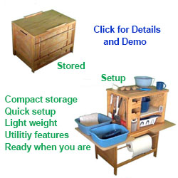 Chuck Box And Patrol Box Camp Kitchens For Rv And Tent Camping