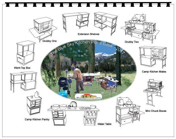 The Blue Sky Kitchen Chuck Box and Camp Kitchen Plans ...